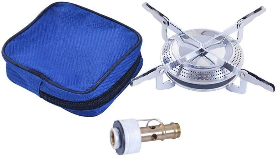 Mini estufa de camping, quemador de gas de bolsillo, estufa de butano portátil al aire libre, quemador de cocina para cartucho de gas, estufa de ...