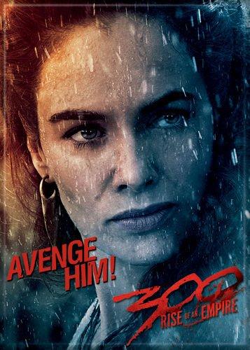 300 Rise of an Empire - Queen Gorgo Avenge Him - Refrigerator Magnet]()