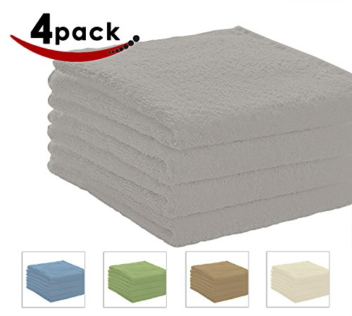 Pacific Linens Bath Towels, 27 x 54 Inches, 4-Pack Luxurious 100% Cotton Hotel and Spa, Absorbent 600 GSM - Macy's Spring Hill