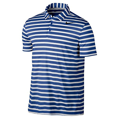 Nike Golf Mens Men's Breathe Stripe Polo, M, - Shirt Nike Basketball Polo