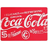 Now Designs Coca-Cola Cork-Backed Placemats, Classic Red, Set of 4
