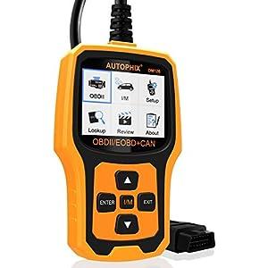 OBD2 Scanner Auptohix OM126 EOBD OBDII Car Diagnostic Scan Tool Fault Code Reader Reset Engine Management Warning Light