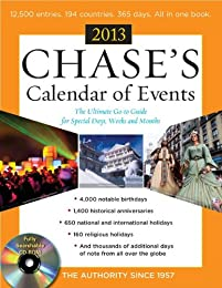 Chases Calendar of Events 2013 [With CDROM]