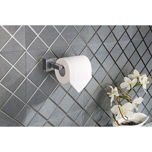 Ruvati RVA5009 Valencia Toilet Paper Holder Luxury Bathroom Accessory, Crystal and Chrome by Ruvati (Image #3)