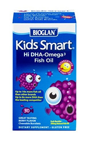 Bioglan Kid's Smart Omega 3 Fish Oil-30 ct
