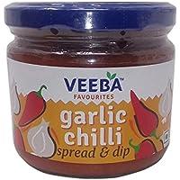 Veeba Spread and Dip - Garlic Chilli, 335g Jar