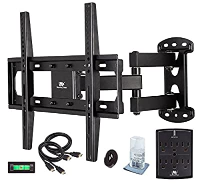 Mounting Dream MD2377-P TV Wall Mount Bracket for most 26-55 Inch LED, LCD, OLED and Plasma Flat Screen TV