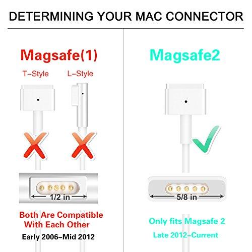 MacBook Pro Charger, Kakivan 85W Magsafe 2 Mac Charger with T-Tip, MacBook Charger 85w Magsafe Power Supply for MacBook Pro 15 Inch (Mid 2012 Later Model) by Kakivan (Image #6)