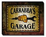 Carrabba's Garage Stretched Canvas Print offers