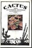 CACTUS Succulent Journal Conophytum cupreiflorum Neogomesia 9-10 1963