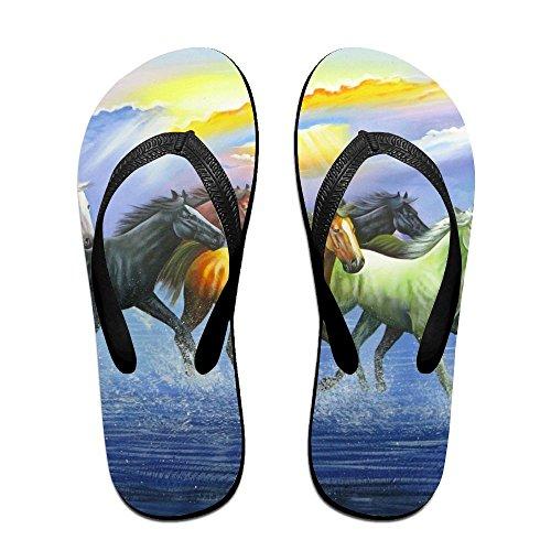 for Women Flip Oil Slippers Painting PTJHKET Men Flops Kids 6Xvxq