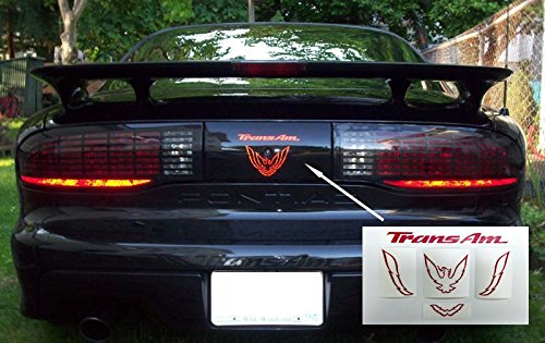 Trans Am Rear Panel Overlay Decal - 93-02 Trans Am - (Color: Gloss ()