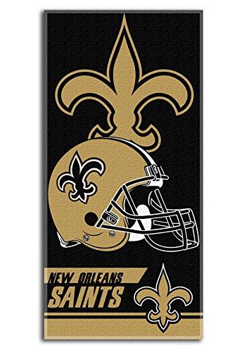 The Northwest Company New Orleans Saints NFL Football 28x58 Cotton Velour Beach Towel