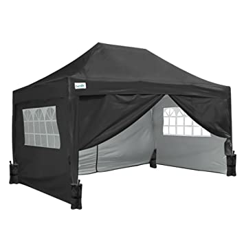 Amazon De Quictent Partyzelt 3 X 6 M Outdoor Easy Pop Up Zelt
