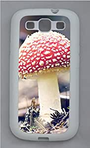 Samsung Galaxy S3 I9300 Cases & Covers - Red Mushroom Custom TPU Soft Case Cover Protector for Samsung Galaxy S3 I9300 - White
