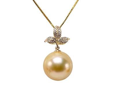 Amazon jyx 14k gold 135mm golden south sea pearl pendant jyx 14k gold 135mm golden south sea pearl pendant necklace aloadofball Gallery