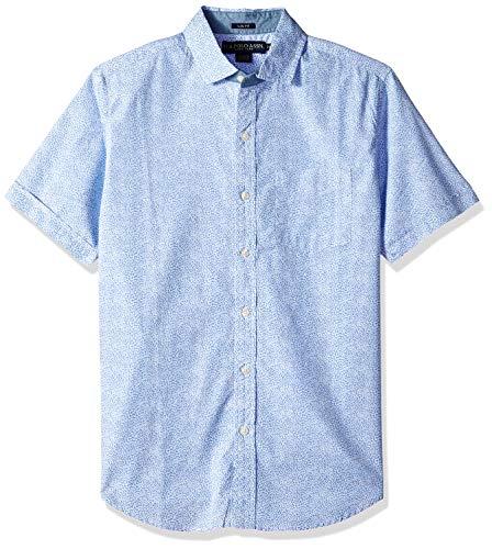 U.S. Polo Assn. Mens Short Sleeve Classic Fit Fancy Shirt
