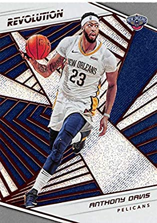 1d44f452477a 2018-19 Revolution Basketball  3 Anthony Davis New Orleans Pelicans  Official NBA Trading Card