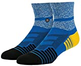 Stance Men's Render Quarter Blue Socks LG
