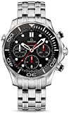 Omega 212.30.44.50.01.001 Seamaster Automatic Mens Watch - Black Dial