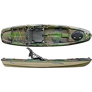 Pelican the catch 120 kayak olive camo light for Bass pro fishing kayak