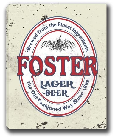 foster-lager-beer-stretched-canvas-sign