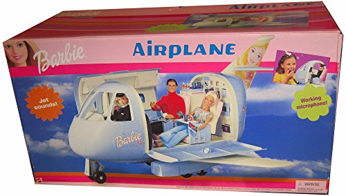 Barbie AIRPLANE - JET PLANE w Working Microphone & JET Sounds! (1998)