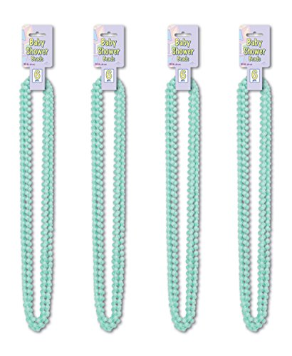 Beistle S50569MGAZ4, 24 Piece Baby Shower Beads, 33