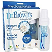 Dr. Brown's Original Bottle, 4 Ounce, 3-Pack