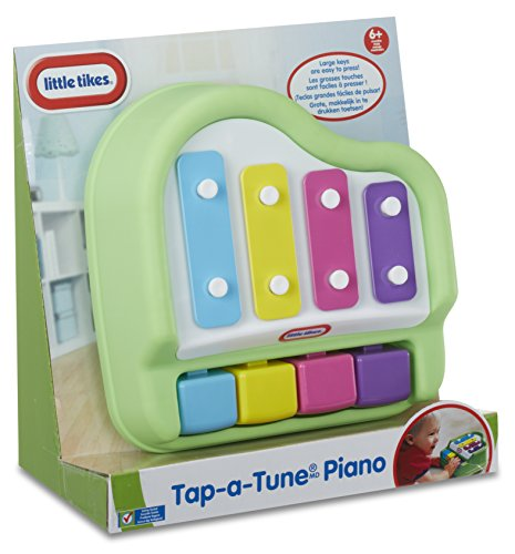 51gXkN%2BGydL - Little Tikes Tap-A-Tune Piano Baby Toy