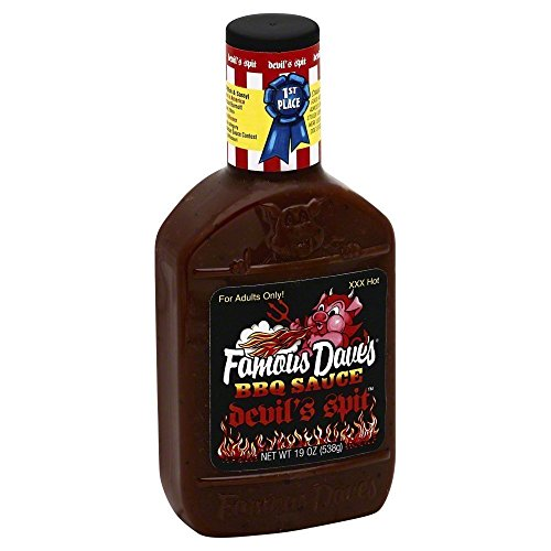 Famous Daves-BBQ Sauce Devil's Spit 19.0 OZ(Pack of 2) -
