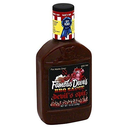 Famous Daves-BBQ Sauce Devil's Spit 19.0 OZ(Pack of ()