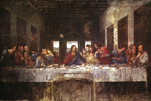 Last Supper Poster Leonardo Vinci product image