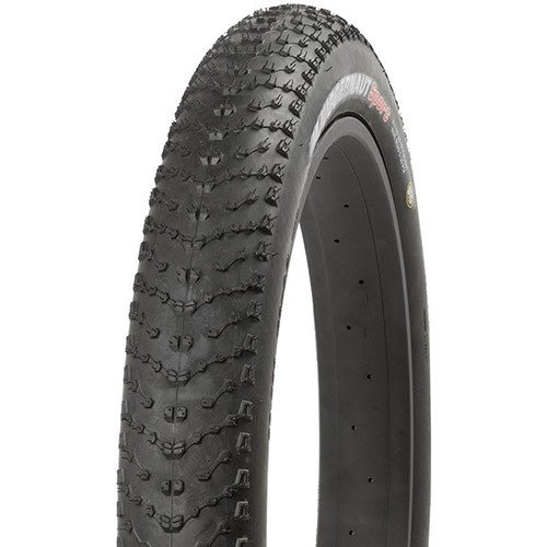 Kenda Juggernaut Tire 26 x 4.0'' Steel Bead Black by Kenda