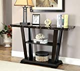 ComfortScape CS-FOA-IDF-4933S Syrah Multi Shelf Faux Console Table, Medium