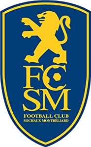 RENOSTICK-Logo fútbol Sochaux Montbeliard, 10 cm
