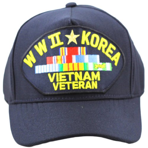 WWII Korea Vietnam Veteran Hat For Men Women, Military Apparel and Collectibles (Hat Korea Military)