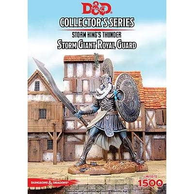 "Dungeons & Dragons - ""Storm Kings Thunder"" Storm Giant Royal Guard (1 fig): Toys & Games"