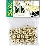 Darice Jingle Bells Gold 0.5 Inch (8 Pack)