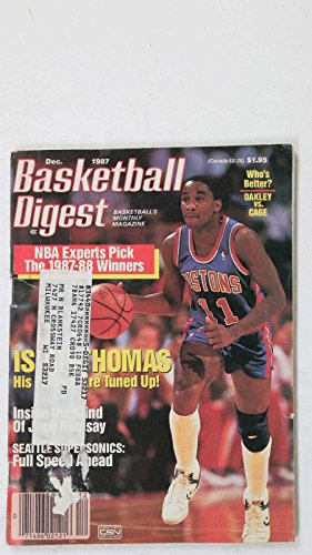 Wear Cage (DECEMBER 1987 BASKETBALL DIGEST PISTONS THOMAS OAKLEY VS. CAGE WEAR)