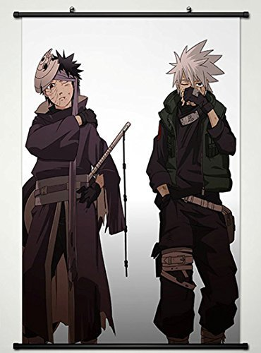 Naruto Wall Scroll Poster Fabric Painting For Anime Uchiha O