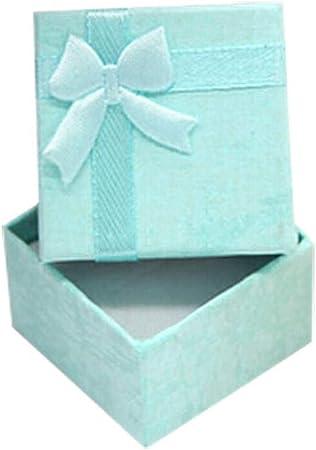 Winkey Caja de Regalo para Pendientes, Caja de Anillos, Anillo Pendiente Joyería Mini Caja de Regalo