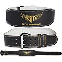 Gym Maniac Weight Lifting Waist Gym Belt | Adjustable...