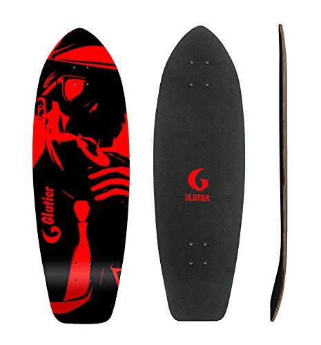 Lordofbrands Surfskate Deck GLUTIER Surf Skate Skate Skate Mafia Gansta rosso 31 B076JGBKDV Parent | Ottima qualità  | A Basso Costo  | Fashionable  | Acquisti online  | promozione  | Materiali Di Prima Scelta  feff9c