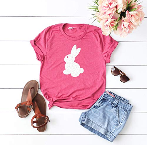 - Easter Shirt for woman Happy Easter Holiday t-shirt Easter outfit glitter shirt