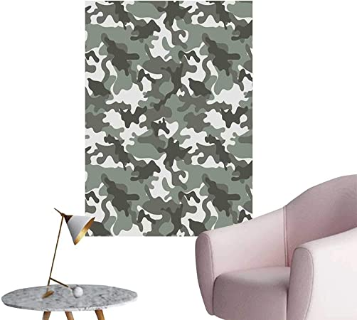 Brandosn Camouflage Self Adhesive Wallpaper For Home Bedroom Decor Monochrome Attire Pattern Camouflage Inside Vegetation Fashion Design Print Living Room Wallpaper Grey Coconut W32 X H48 Amazon Co Uk Kitchen Home,Color Personality Test Blue Gold Green Orange Free