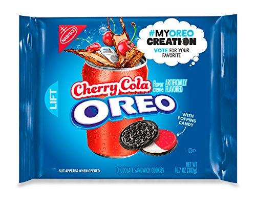 Oreo Cherry Cola Chocolate Sandwich Cookies   My Oreo Creation  10 7 Ounce