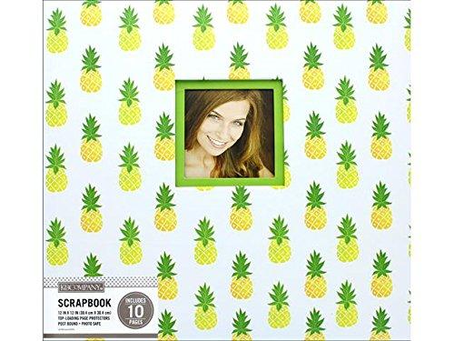5 Scrapbk 12x12 Window Pineapple Scatter Scrapbook 12x12 Pineapplescttr ()