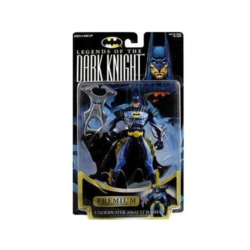 Batman: Legends of the Dark Knight Underwater Assault Batman Action Figure (Dark Knight Collection)