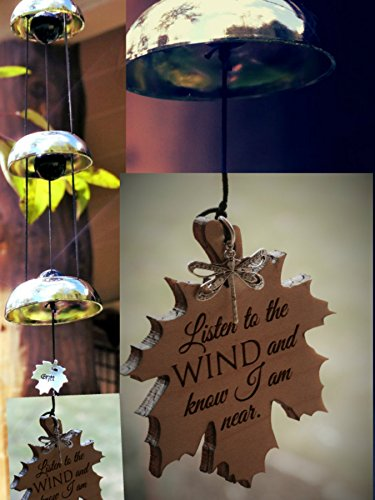 Memorial Wind Chime Bells Customized and Engraved in Memory of a loved One, Stillbirth, Child loss or Miscarriage Gift Loss of grandparent Top Memoria…